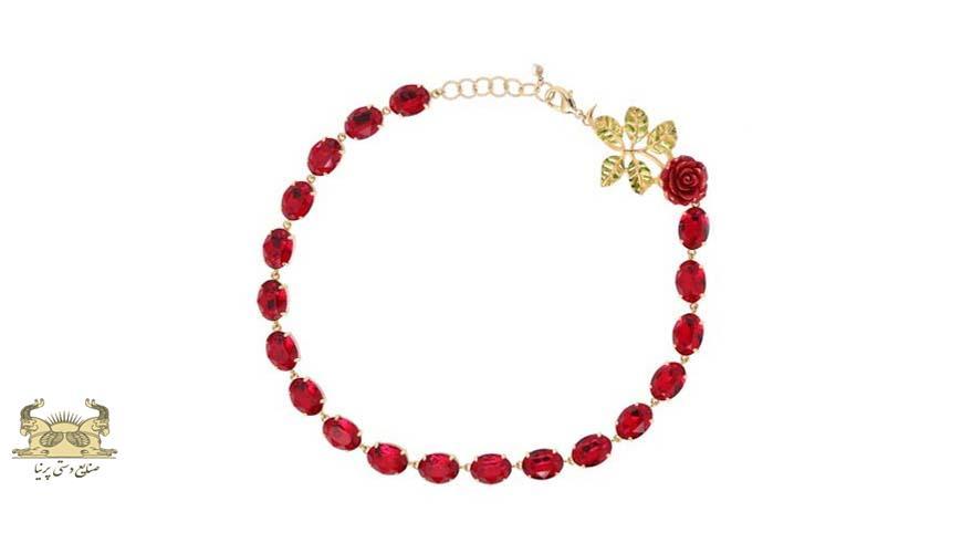 گل سرخ در جواهرات