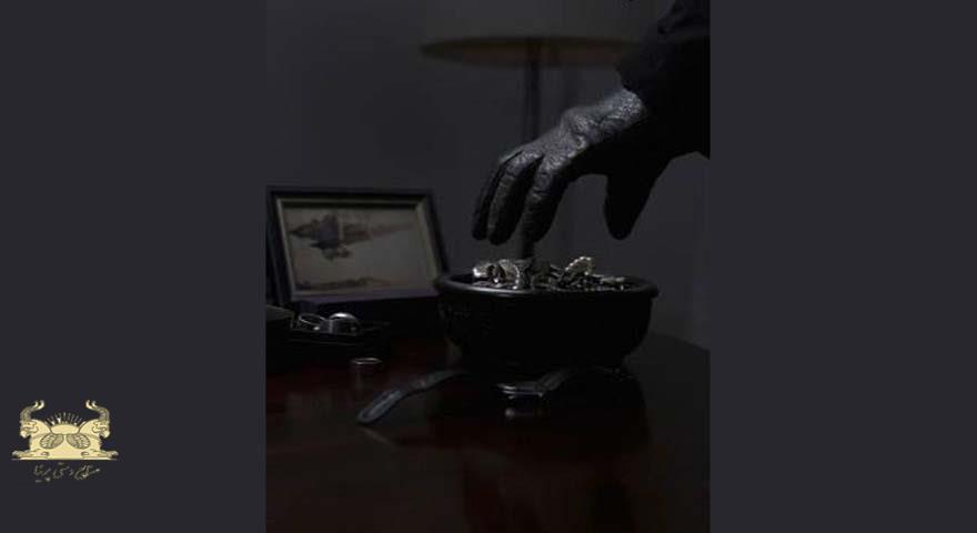 قراردادن جواهرات در معرض دید