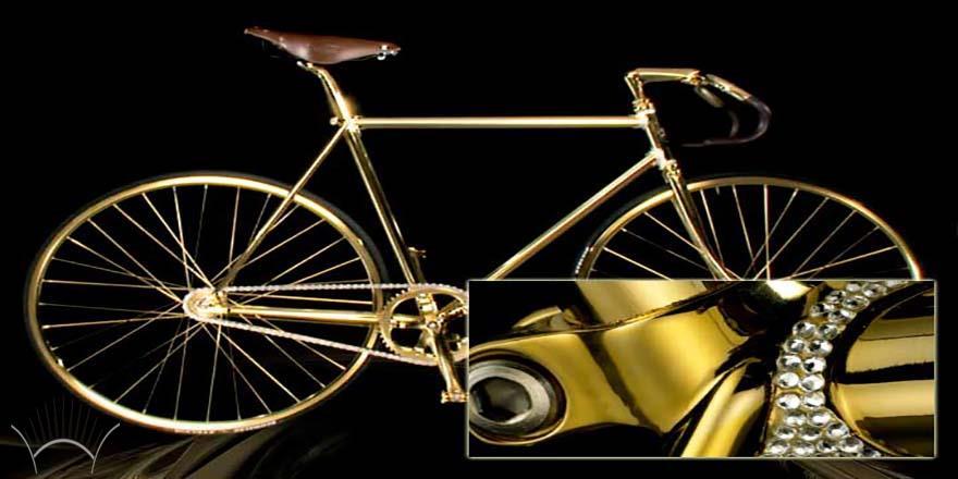 دوچرخه طلایی