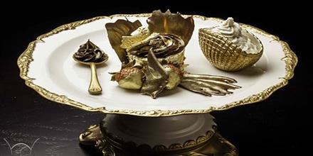 کاپ کیک طلا