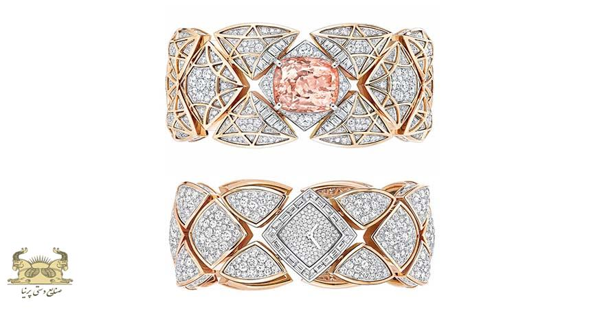 جواهرات زنانه دارای ساعت های پنهان