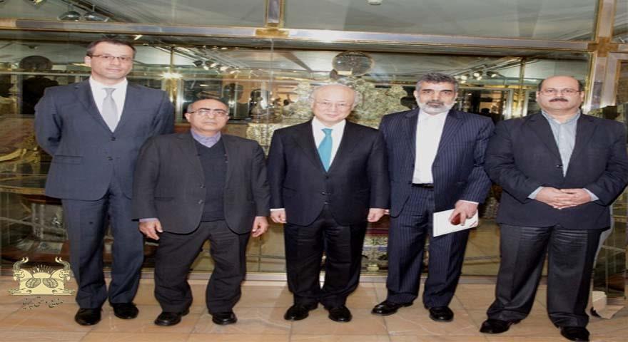 آمانو : خزانه جواهرات ملی ایران بی نظیر است
