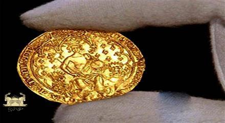 سکه دو عقاب (Double eagle)     - سکه دبل فلورین (پول انگلیس برابر با 2 شیلینگ) ادوارد سوم