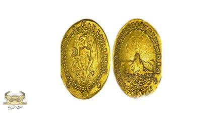 سکه براشر دابلون با علامت EB بر روی سینه عقاب