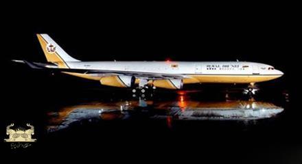 هواپیما از طلا