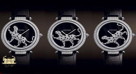 ساعت الماس نشان